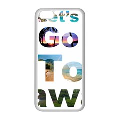 Hawaii Apple Iphone 5c Seamless Case (white) by Howtobead