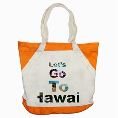 Hawaii Accent Tote Bag by Howtobead