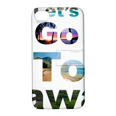 Hawaii Apple Iphone 4/4s Hardshell Case With Stand by Howtobead