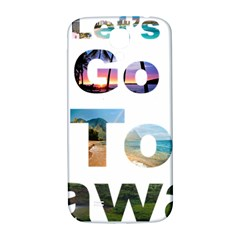 Hawaii Samsung Galaxy S4 I9500/i9505  Hardshell Back Case by Howtobead