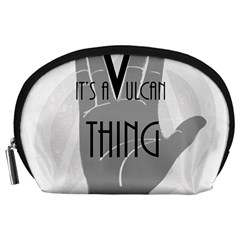 It s A Vulcan Thing Accessory Pouches (large)  by Howtobead