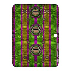 Sunset Love In The Rainbow Decorative Samsung Galaxy Tab 4 (10 1 ) Hardshell Case  by pepitasart