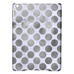 Circles2 White Marble & Silver Paint (r) Ipad Air Hardshell Cases by trendistuff