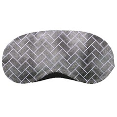 Brick2 White Marble & Silver Paint Sleeping Masks by trendistuff