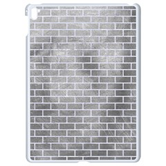 Brick1 White Marble & Silver Paint Apple Ipad Pro 9 7   White Seamless Case by trendistuff