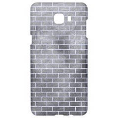 Brick1 White Marble & Silver Paint Samsung C9 Pro Hardshell Case  by trendistuff