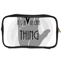 It s A Vulcan Thing Toiletries Bags by Howtobead