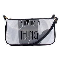 It s A Vulcan Thing Shoulder Clutch Bags by Howtobead