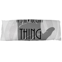 It s A Vulcan Thing Body Pillow Case (dakimakura) by Howtobead