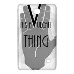 It s A Vulcan Thing Samsung Galaxy Tab 4 (8 ) Hardshell Case  by Howtobead