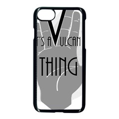 It s A Vulcan Thing Apple Iphone 7 Seamless Case (black) by Howtobead