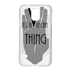 Vulcan Thing Samsung Galaxy S5 Case (white) by Howtobead