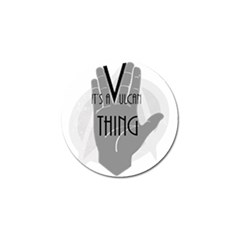 Vulcan Thing Golf Ball Marker (10 Pack) by Howtobead