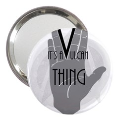 Vulcan Thing 3  Handbag Mirrors by Howtobead