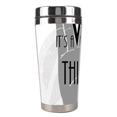 Vulcan Thing Stainless Steel Travel Tumblers by Howtobead
