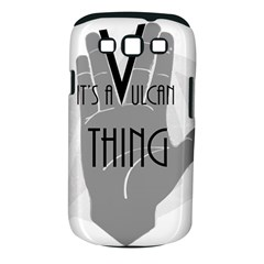 Vulcan Thing Samsung Galaxy S Iii Classic Hardshell Case (pc+silicone) by Howtobead