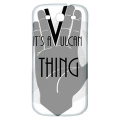 Vulcan Thing Samsung Galaxy S3 S Iii Classic Hardshell Back Case by Howtobead