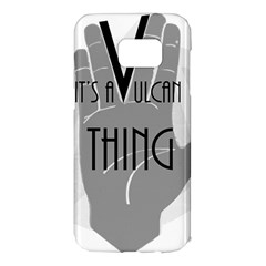 Vulcan Thing Samsung Galaxy S7 Edge Hardshell Case by Howtobead