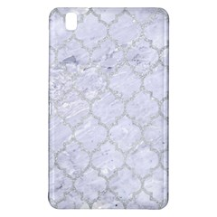 Tile1 White Marble & Silver Glitter (r) Samsung Galaxy Tab Pro 8 4 Hardshell Case by trendistuff