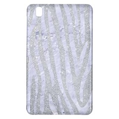 Skin4 White Marble & Silver Glitter (r) Samsung Galaxy Tab Pro 8 4 Hardshell Case by trendistuff