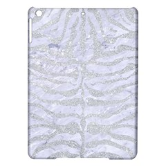 Skin2 White Marble & Silver Glitter (r) Ipad Air Hardshell Cases by trendistuff