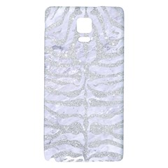Skin2 White Marble & Silver Glitter (r) Galaxy Note 4 Back Case by trendistuff