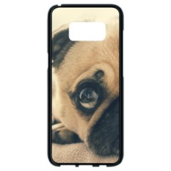 Pouty Pug Case Samsung Galaxy S8 Black Seamless Case by cutentrendy