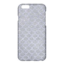 Scales1 White Marble & Silver Glitter Apple Iphone 6 Plus/6s Plus Hardshell Case by trendistuff