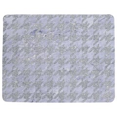 Houndstooth1 White Marble & Silver Glitter Jigsaw Puzzle Photo Stand (rectangular) by trendistuff