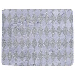 Diamond1 White Marble & Silver Glitter Jigsaw Puzzle Photo Stand (rectangular) by trendistuff