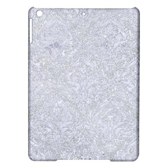 Damask1 White Marble & Silver Glitter Ipad Air Hardshell Cases by trendistuff