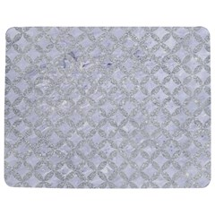 Circles3 White Marble & Silver Glitter (r) Jigsaw Puzzle Photo Stand (rectangular) by trendistuff