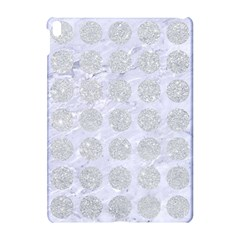 Circles1 White Marble & Silver Glitter (r) Apple Ipad Pro 10 5   Hardshell Case by trendistuff