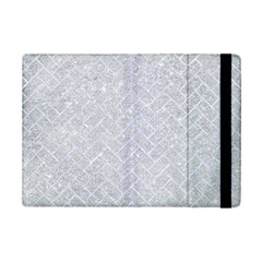 Brick2 White Marble & Silver Glitter Ipad Mini 2 Flip Cases by trendistuff