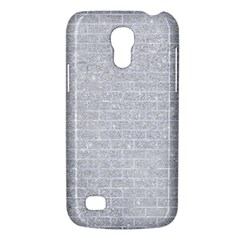 Brick1 White Marble & Silver Glitter Galaxy S4 Mini by trendistuff