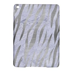 Skin3 White Marble & Silver Brushed Metal (r) Ipad Air 2 Hardshell Cases by trendistuff