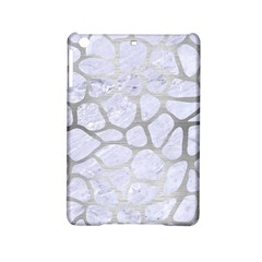 Skin1 White Marble & Silver Brushed Metal Ipad Mini 2 Hardshell Cases by trendistuff