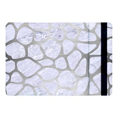 Skin1 White Marble & Silver Brushed Metal Apple Ipad Pro 10 5   Flip Case by trendistuff