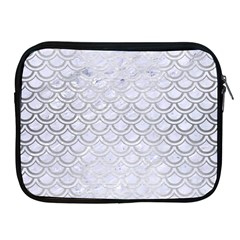 Scales2 White Marble & Silver Brushed Metal (r) Apple Ipad 2/3/4 Zipper Cases by trendistuff