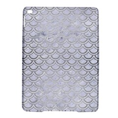 Scales2 White Marble & Silver Brushed Metal (r) Ipad Air 2 Hardshell Cases by trendistuff
