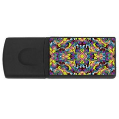 Pattern-12 Rectangular Usb Flash Drive