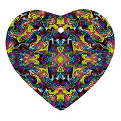 Pattern-12 Heart Ornament (two Sides)