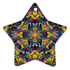 Pattern-12 Star Ornament (two Sides)