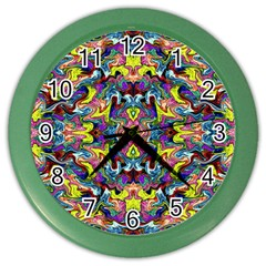 Pattern-12 Color Wall Clocks