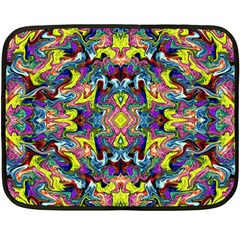 Pattern-12 Double Sided Fleece Blanket (mini)