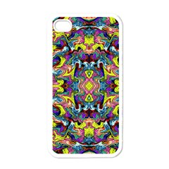 Pattern-12 Apple Iphone 4 Case (white)