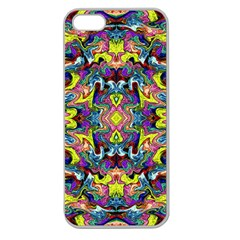 Pattern-12 Apple Seamless Iphone 5 Case (clear)