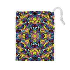 Pattern-12 Drawstring Pouches (large)