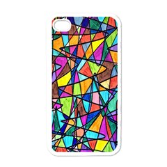 Pattern 13 Apple Iphone 4 Case (white) by ArtworkByPatrick