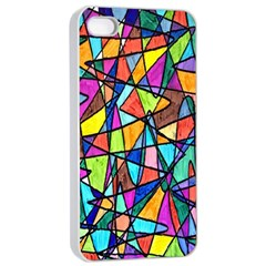 Pattern 13 Apple Iphone 4/4s Seamless Case (white) by ArtworkByPatrick